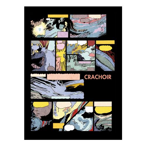 """un fanzine par mois x Crachoir #4 """"spécial comic strips"""""""