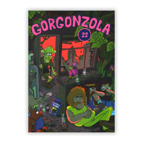 """Gorgonzola #22 """"Artefact"""""""