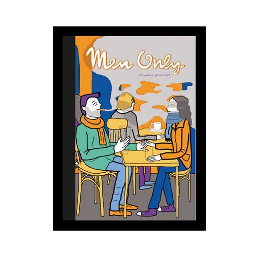 un fanzine par mois x Men Only couverture