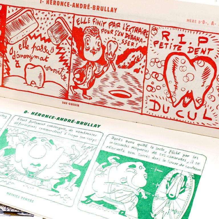 un Fanzine par mois x fumetti la grande famille