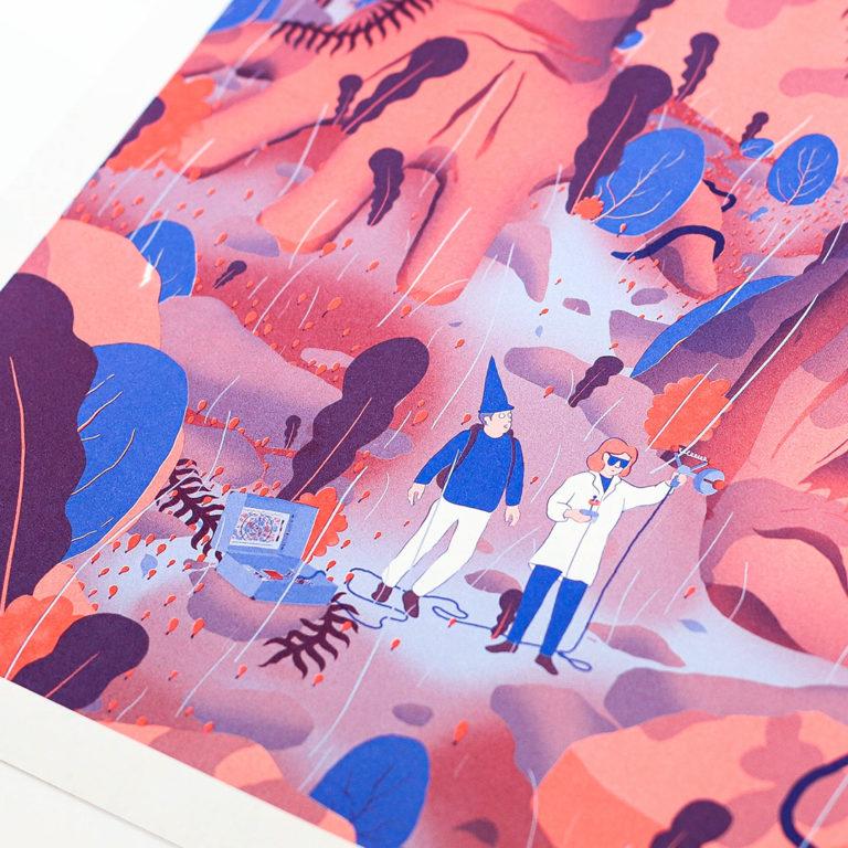 un fanzine par mois x Paper-Cut x Alexis Grasset