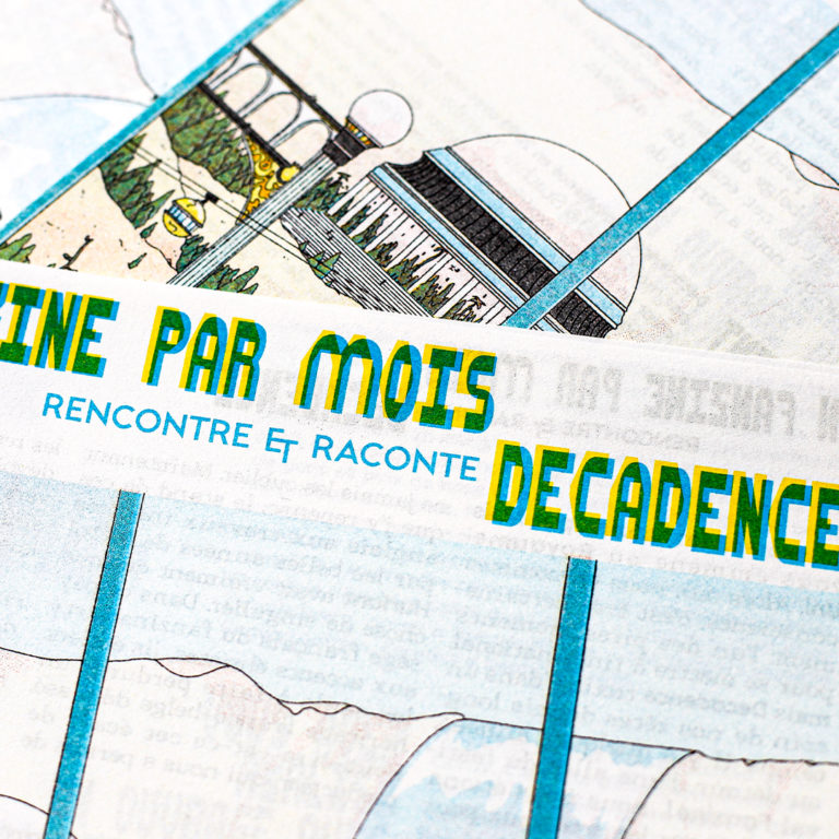 Decadence comics x Un Fanzine par Mois
