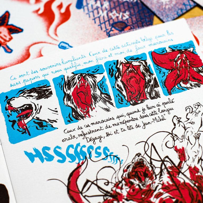 Aniss El Hamouri x Un Fanzine par Mois
